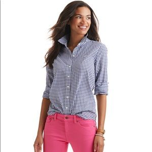 Vineyard Vines little gingham relaxed Button Down
